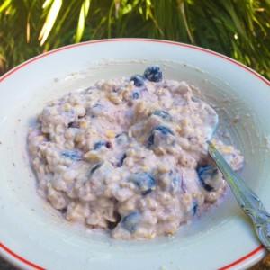 healthy breakfast - overnight oats