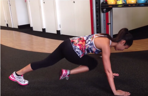 lower ab workout for women