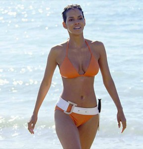 Halle Berry - mesomorph - how to get skinny legs series