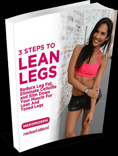Lean Legs Ebook Rachael Attard