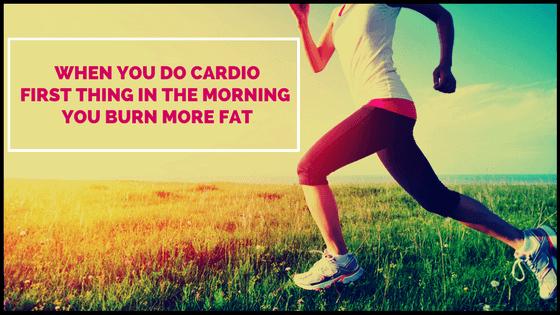 how to get skinny legs with fasted cardio workouts
