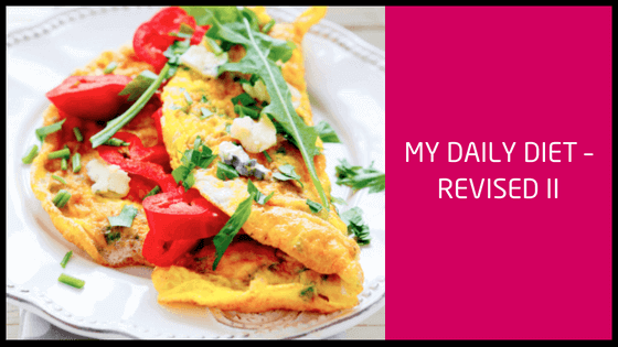 #90 My Daily Diet – Revised II