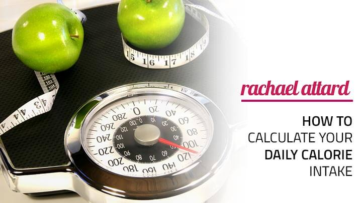 how to calculate your daily calorie intake