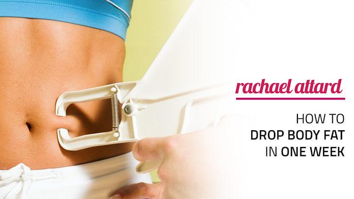 drop body fat