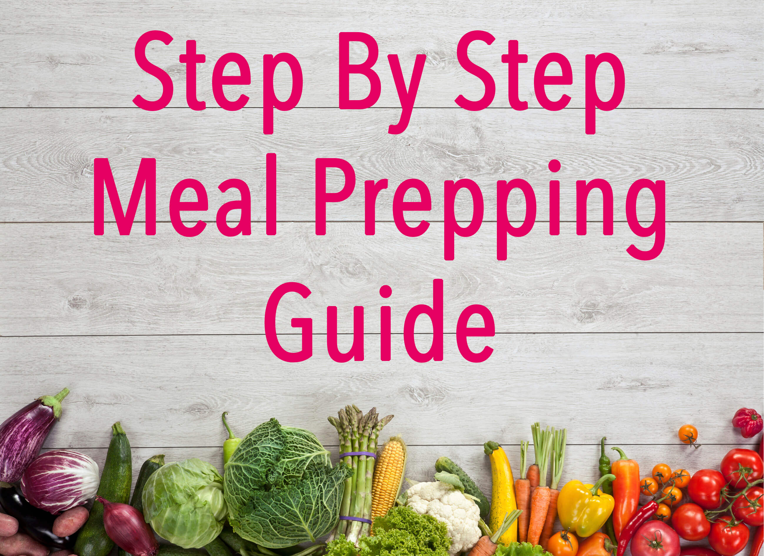 #201 Step By Step Meal Prepping Guide