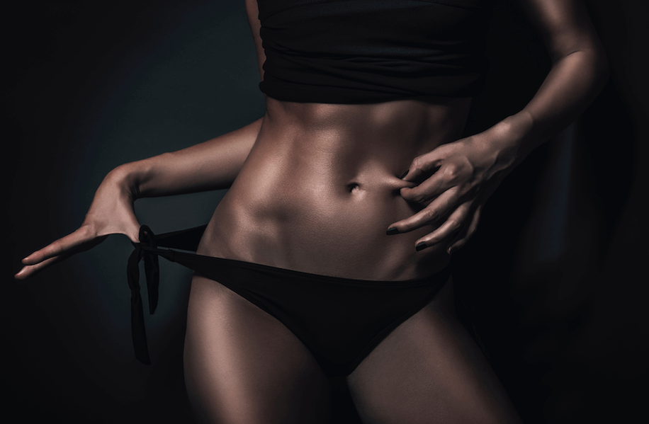 how to drop body fat in one week