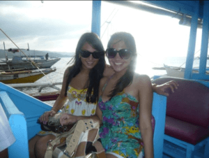 Little sis and I in the Philippines back in 2008!