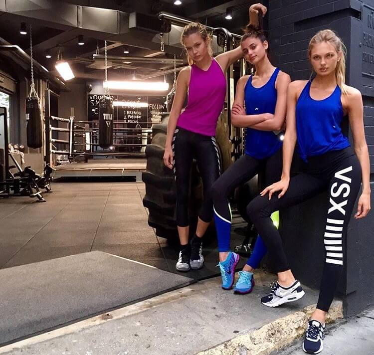 Where The Victoria's Secret Models Workout