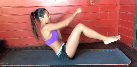 upper body and core workout