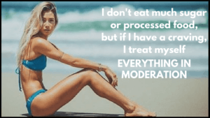 model workout and diet