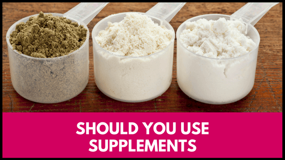 should you use supplements