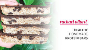 Healthy Homemade Protein Bars - Choc Peanut Butter Flavour :)