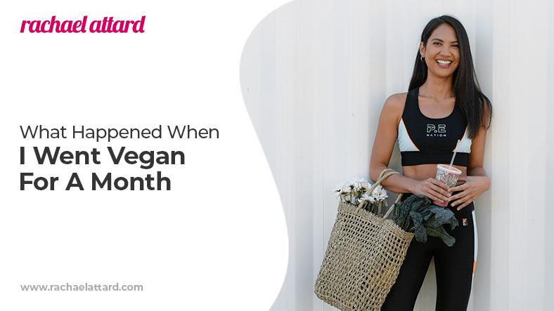 what happened when i went vegan