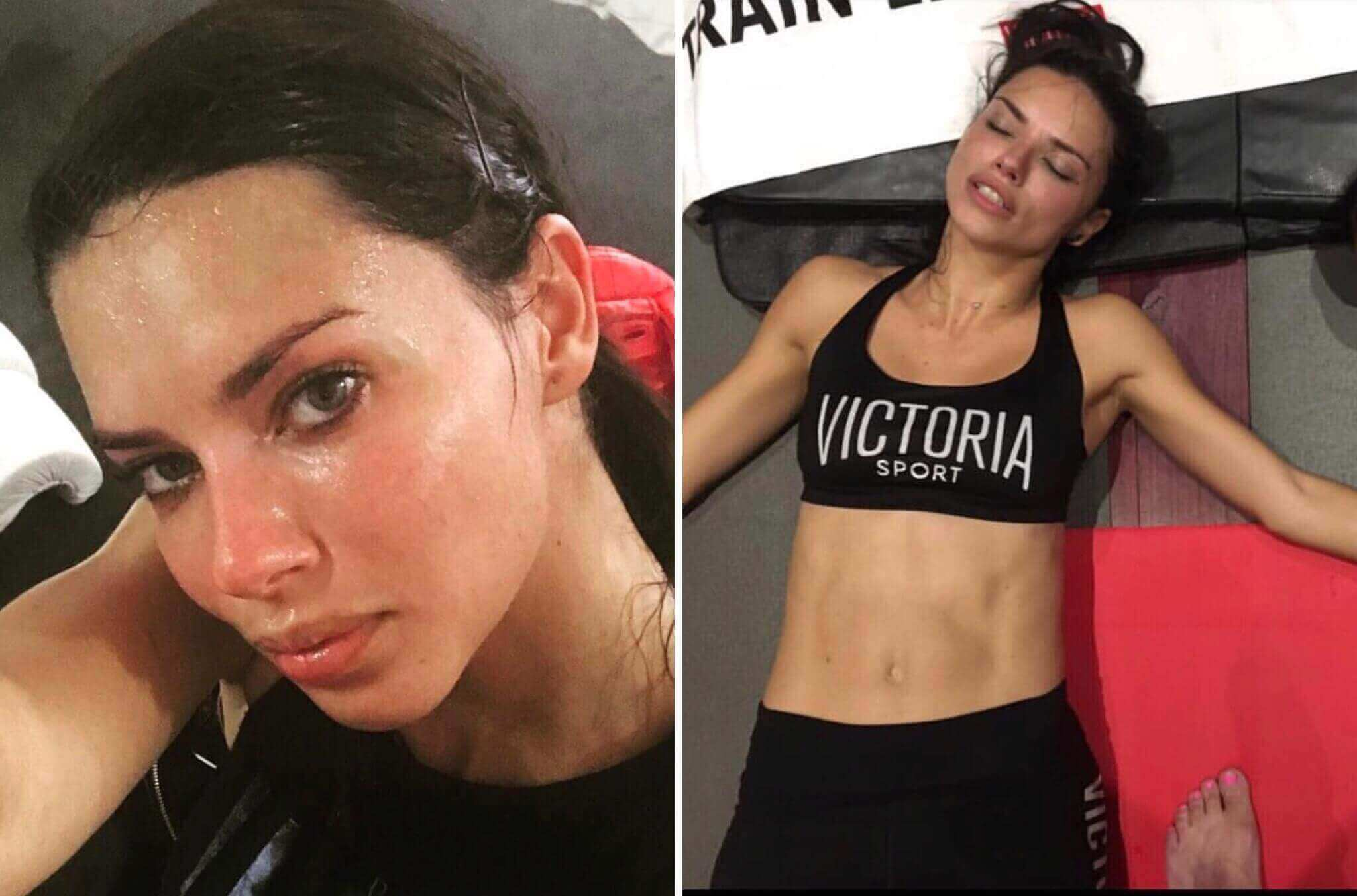 adriana diet and exercise plan