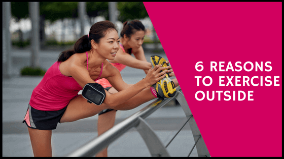 reasons to exercise outside