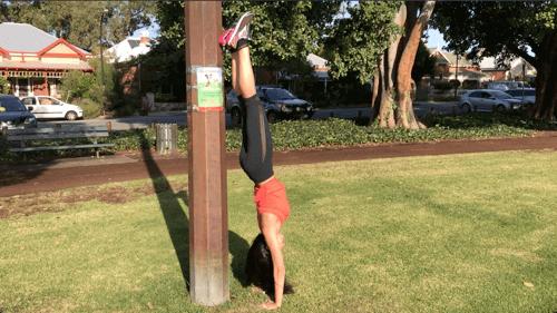 15 minute park workout