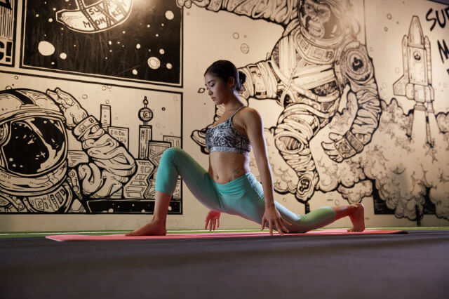 yoga for lean muscle