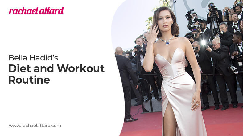 Bella Hadid diet and workout routine