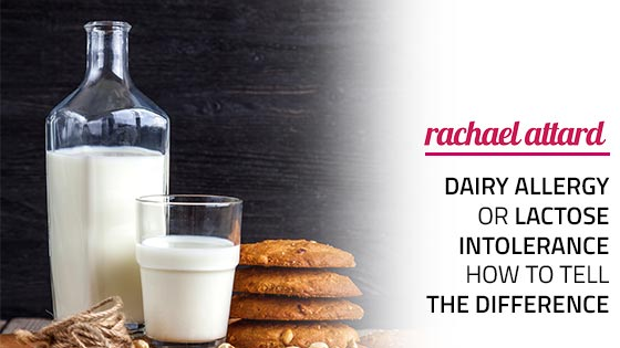 dairy allergy or lactose intolerance