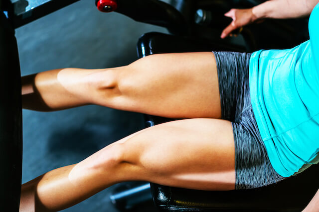 how to slim down your thighs