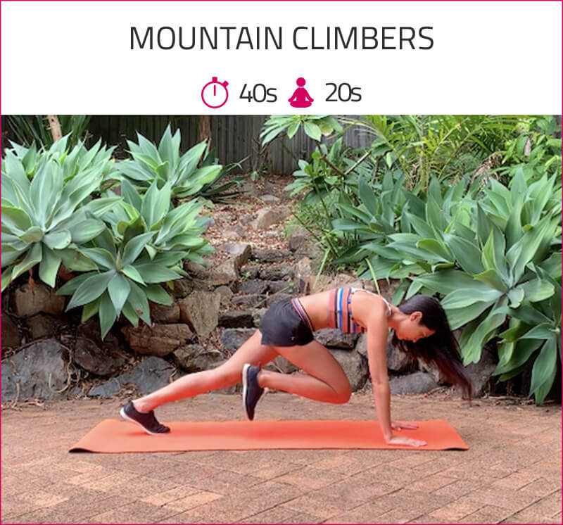 calorie burning circuit