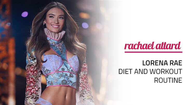 Lorena Rae Diet and Workout Routine