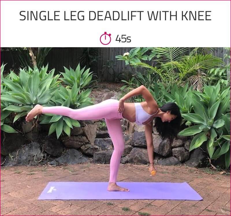 leg toning workout for women