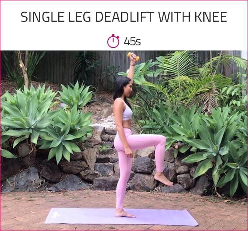 at home leg toning workout