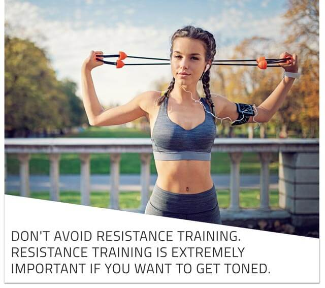 tone your arms without getting bulky