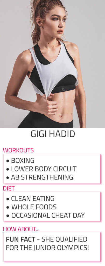 gigi hadid workout and diet