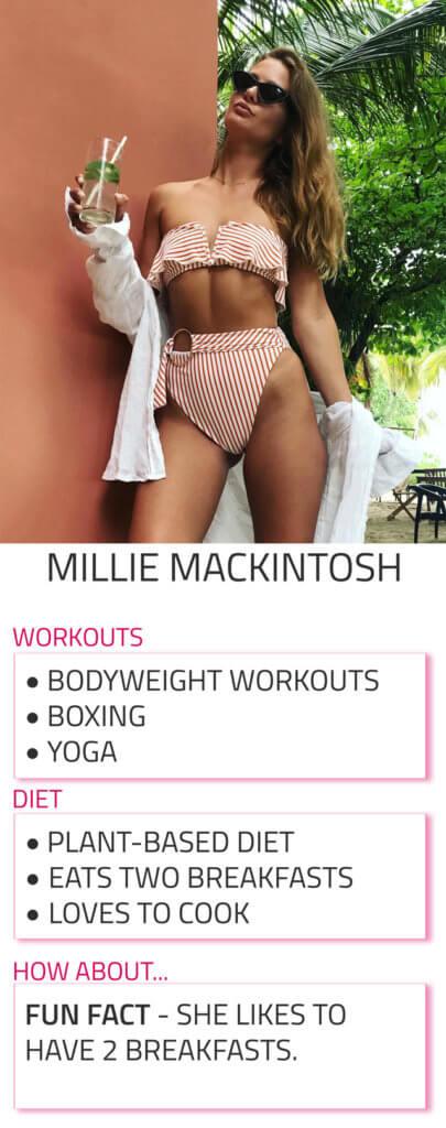 millie mackintosh diet workout routine