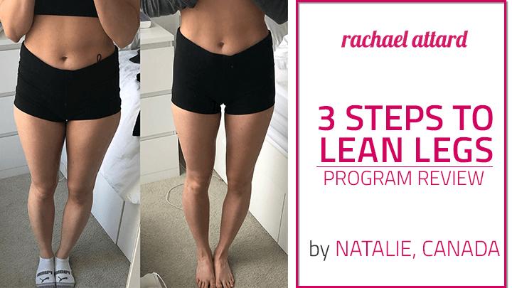 3 steps to lean leg program review