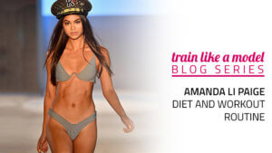 Amanda Li Paige Diet and Workout Routine - Miami Swim Week Model