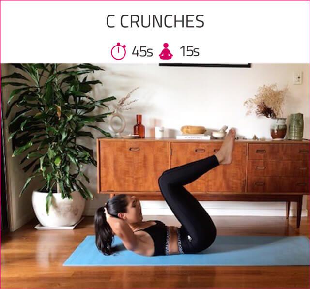 c crunches