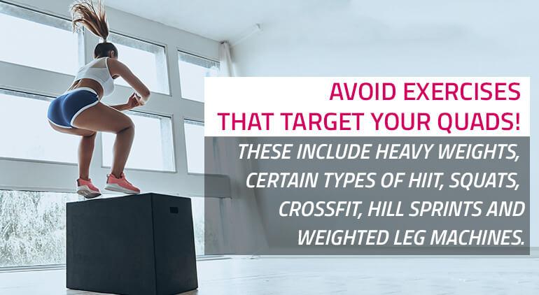 avoid exercises that make you bulky