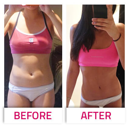 get lean not bulky transformation photo