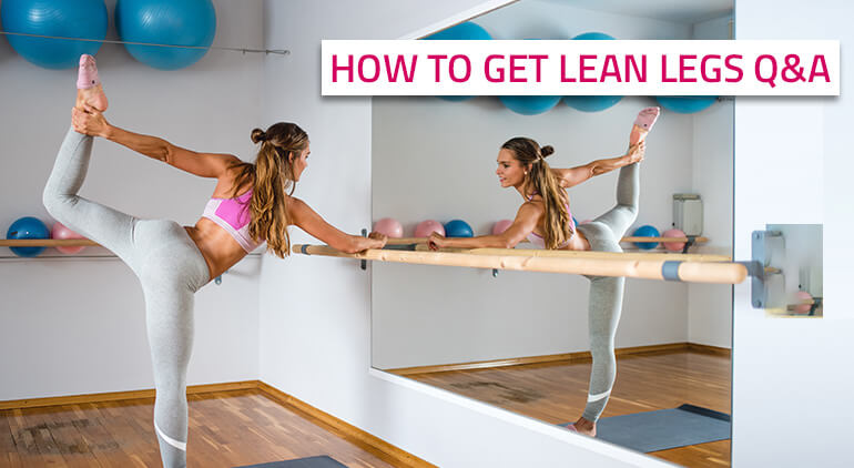 how to get lean legs without bulking up