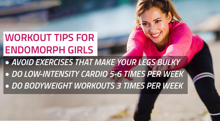 endomorph woman workout plan