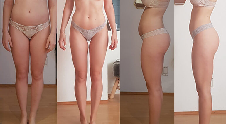 skinny fat transformation photos