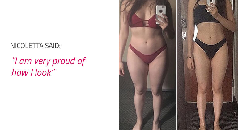 endomorph female before and after results