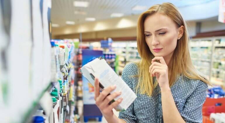dieting mistakes food labels