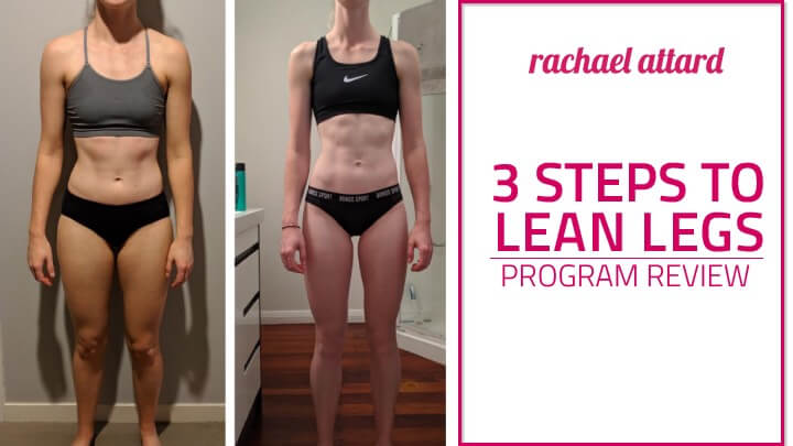 lean legs program review rachael attard
