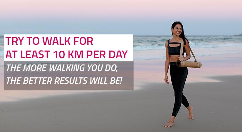 how to get skinny legs walking