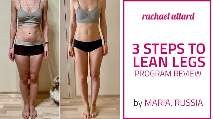 lean legs workout review rachael attard