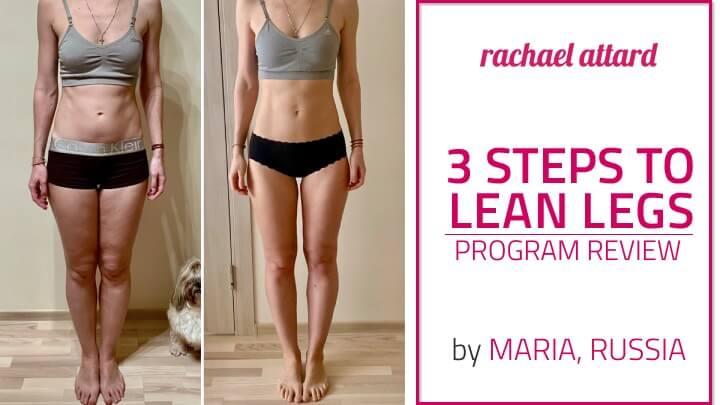 lean legs workout review rachael attard