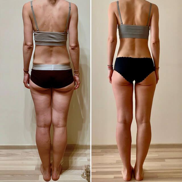 lean legs program review rachael attard results