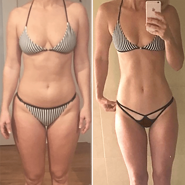 lean legs program before after