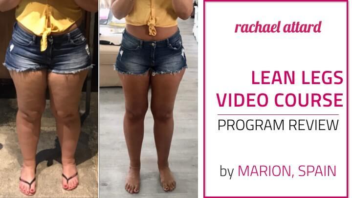 lean legs video course rachael attard