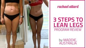 Lean Legs Program Review by Maddie from Australia