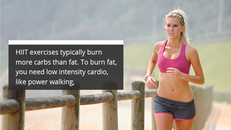 lilly sabri's HIIT exercises for fat loss